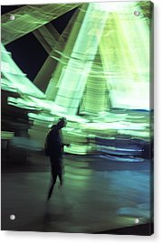 Acrylic Print featuring the photograph Oblivion by Alex Lapidus
