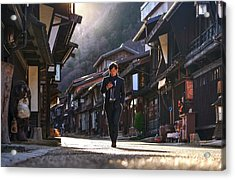 Acrylic Print featuring the photograph Oblivious To The Beauty Around by Peter Thoeny