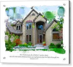 Obrien Home 2 Acrylic Print