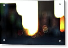 Obscure City Acrylic Print