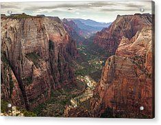 Observation Point - Zion Acrylic Print