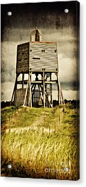 Observation Tower Acrylic Print by Angela Doelling AD DESIGN Photo and PhotoArt
