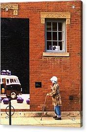 Observing Building Art Acrylic Print