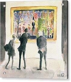 Observing Seurat Acrylic Print