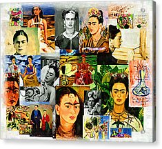 Obsessed With Frida Kahlo Acrylic Print