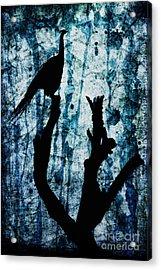 Obsidian Realm Acrylic Print by Andrew Paranavitana