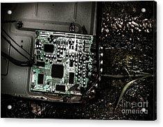 Obsolete Technology Acrylic Print by Jorgo Photography - Wall Art Gallery