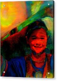Ocankuye Waste Yelo..in A Good Way Acrylic Print