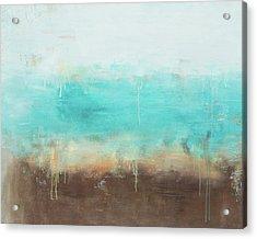 Ocean Abstract Acrylic Print by Jamaal Moore