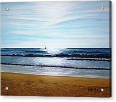 Ocean And Light Acrylic Print by Madeleine Prochazka