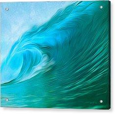 Ocean At Play Acrylic Print