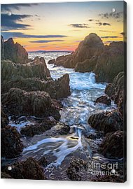 Ocean Ave. Seascape Acrylic Print by Benjamin Williamson