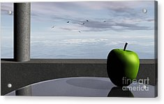 Ocean Balcony Acrylic Print by Richard Rizzo