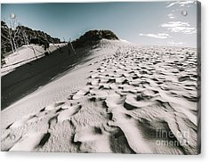 Ocean Beach Desert In Tasmania Acrylic Print by Jorgo Photography - Wall Art Gallery