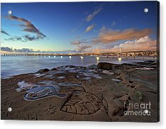 Ocean Beach Pier At Sunset, San Diego, California Acrylic Print