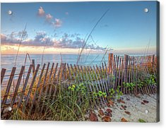 Acrylic Print featuring the photograph Ocean Blues by Debra and Dave Vanderlaan