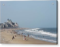 Ocean City Maryland Beach Acrylic Print