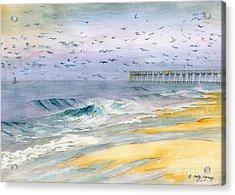 Ocean City Maryland Acrylic Print