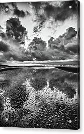 Ocean Clouds Reflection Acrylic Print