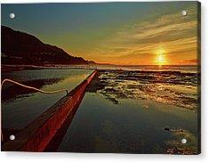 Ocean Dawn Acrylic Print