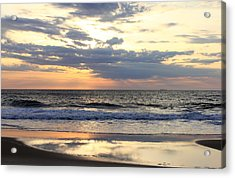 Ocean Dawn Acrylic Print by Mary Haber