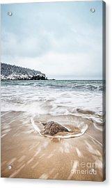 Ocean Flows Acrylic Print by Evelina Kremsdorf