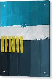 Ocean Front Walk 2- Art By Linda Woods Acrylic Print