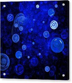 Ocean Gems Acrylic Print by Menega Sabidussi