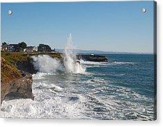 Ocean Geyser Acrylic Print