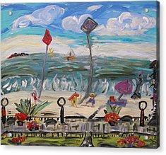 Ocean Grove Acrylic Print
