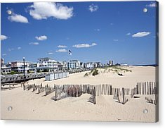 Ocean Grove Acrylic Print by Mary Haber