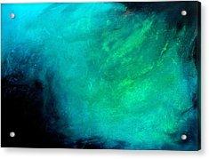 Ocean Acrylic Print by Izabela Bienko