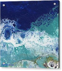 Acrylic Print featuring the painting Ocean by Jamie Frier