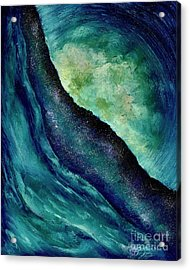 Ocean Meets Sky Acrylic Print