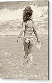 Ocean Moment Acrylic Print by JAMART Photography