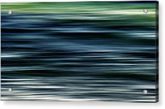Ocean Movement Acrylic Print by Stelios Kleanthous