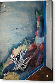 Ocean Mural Acrylic Print