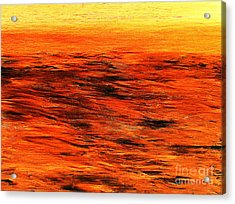 Ocean Of Weathered Thoughts Acrylic Print