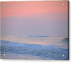 Acrylic Print featuring the photograph Ocean Peace by  Newwwman