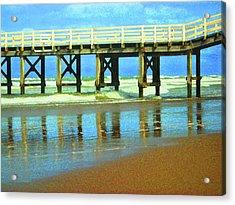 Ocean Pier Acrylic Print