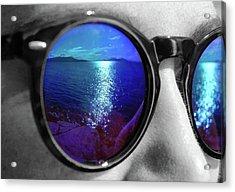 Ocean Reflection Acrylic Print