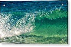 Ocean Ripples Acrylic Print by Stelios Kleanthous