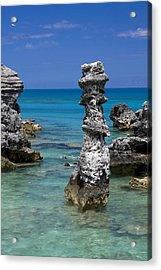 Ocean Rock Formations Acrylic Print