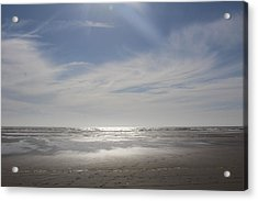 Ocean Shores Acrylic Print by Suzanne Lorenz