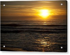 Ocean Sunrise Acrylic Print by Christina Durity