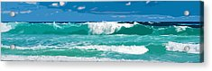 Ocean Surf Illustration Acrylic Print by Phill Petrovic