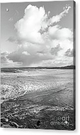 Ocean Texture Study Acrylic Print by Nicholas Burningham