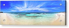 Acrylic Print featuring the photograph Ocean Tranquility, Yanchep by Dave Catley