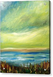 Ocean View From The Beach House Acrylic Print