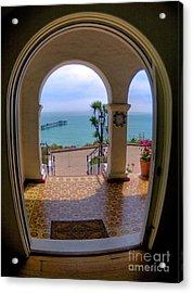Ocean View Acrylic Print by Kim Michaels